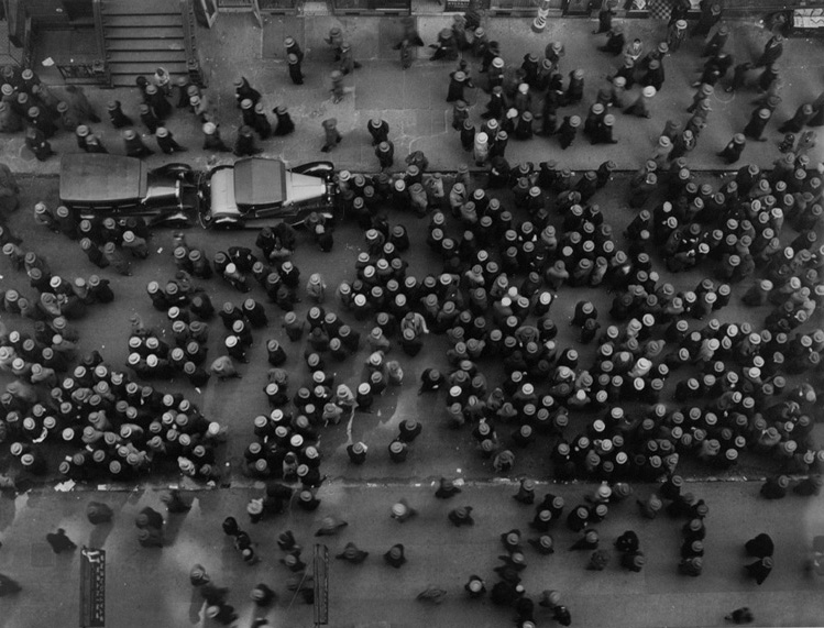 Margaret Bourke-White, Hats in the Garment District, New York